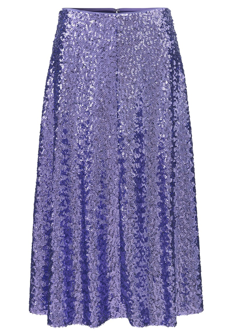 Henny Sequin Skirt - Aster Purple main image