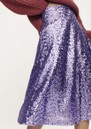 Henny Sequin Skirt - Aster Purple additional image