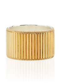ANNA BECK Stargaze Ribbed Band Ring - Gold