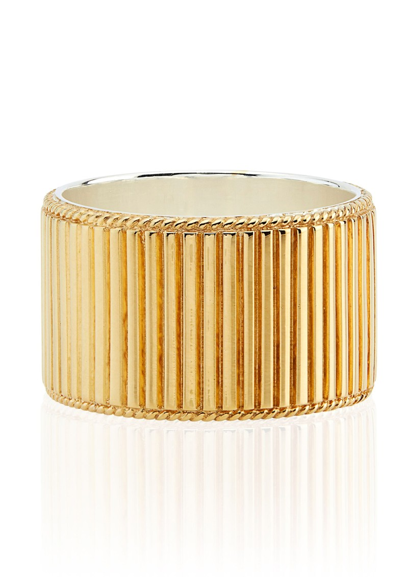 ANNA BECK Stargaze Ribbed Band Ring - Gold main image