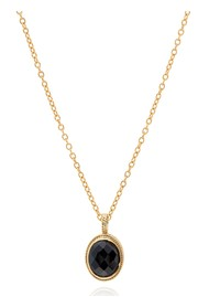 ANNA BECK Stargaze Hypersthene Pendant Necklace - Gold