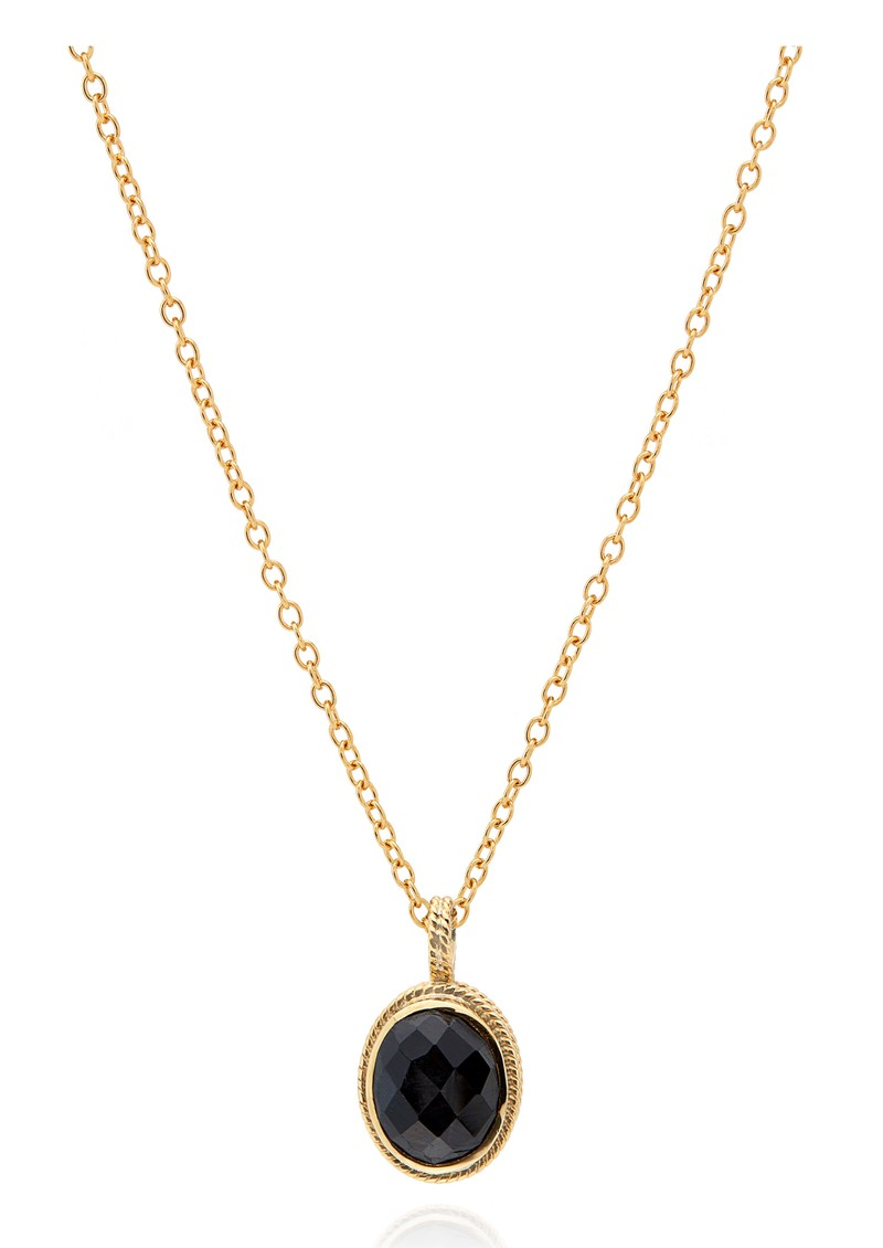 Stargaze Hypersthene Pendant Necklace - Gold main image
