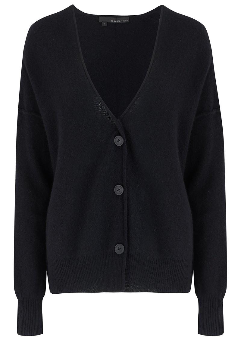 360 SWEATER Itzie Cashmere Cardigan - Black main image