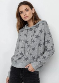 Rails Murray Hoodie - Grey Stars