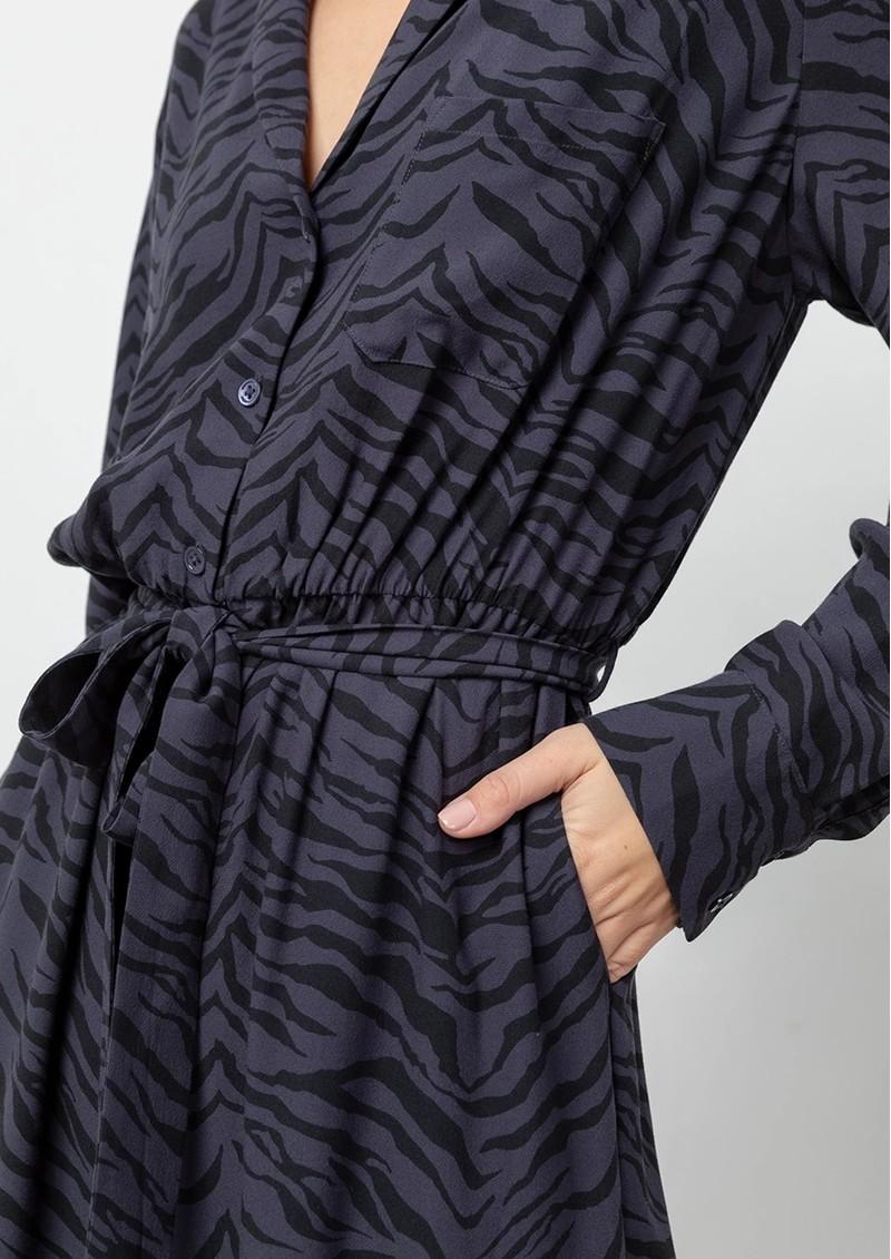 Rails Callan Jumpsuit - Charcoal Tiger main image