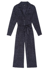 Rails Callan Jumpsuit - Charcoal Tiger
