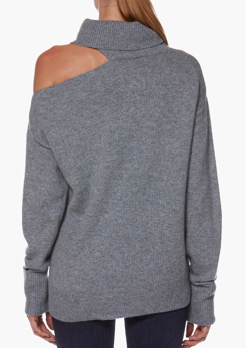 Raundi Turtleneck Jumper - Heather Grey main image