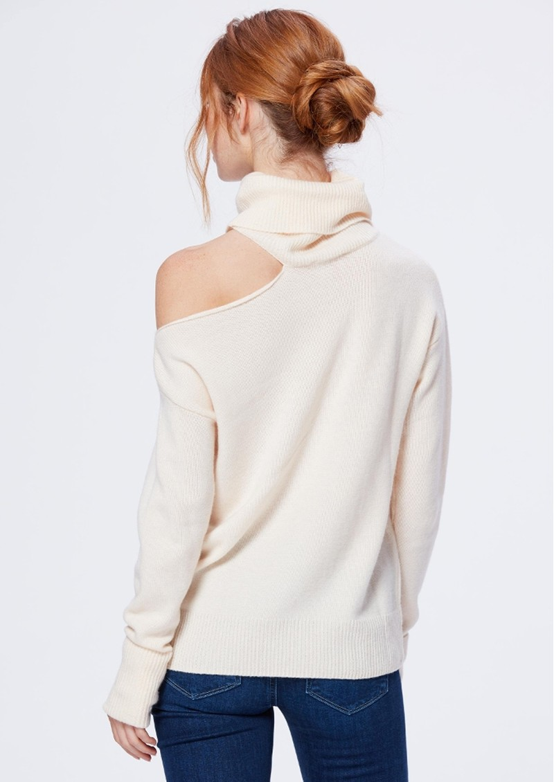 Paige Denim Raundi Turtleneck Jumper - Ivory main image