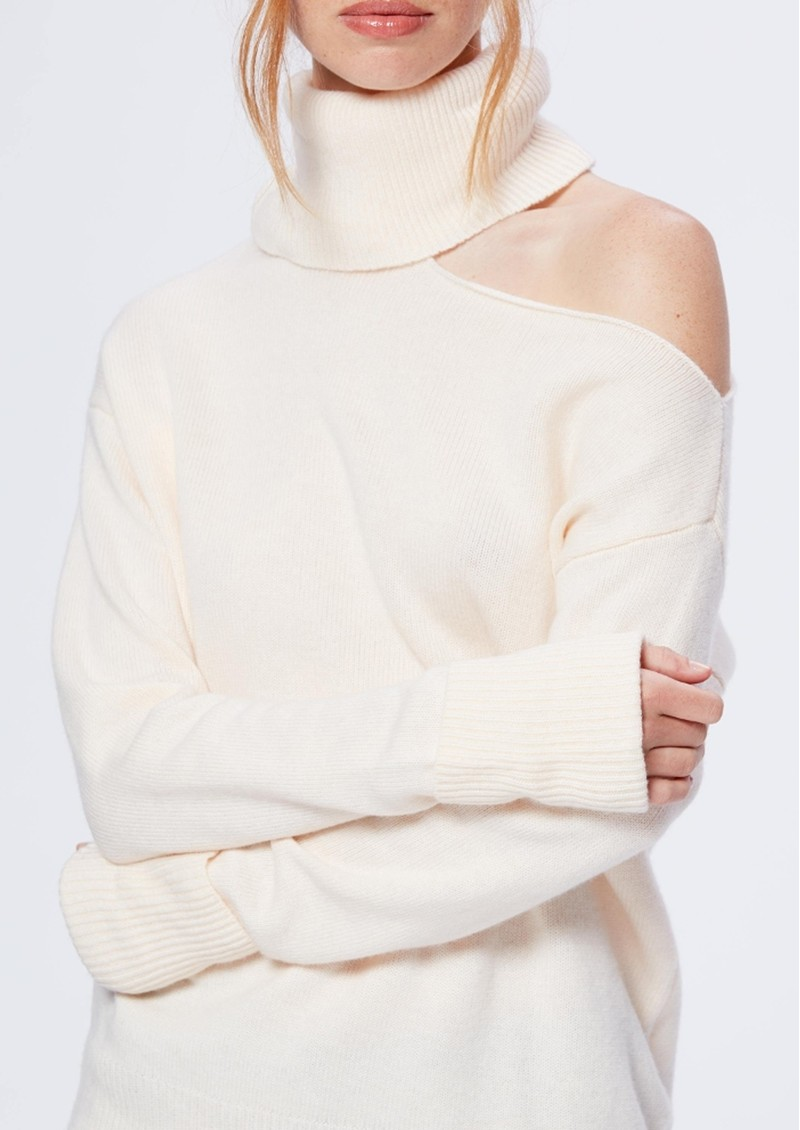 Raundi Turtleneck Jumper - Ivory main image