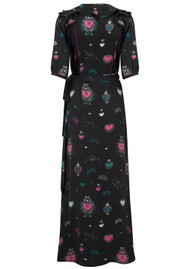 STARDUST Exclusive Bloom Heart Dress - Black Multi