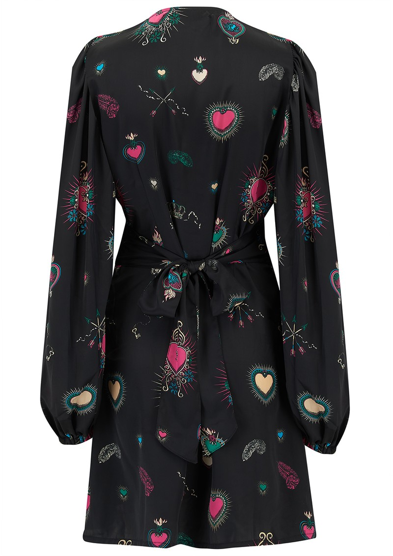 STARDUST Exclusive Diva Heart Dress - Black Multi main image