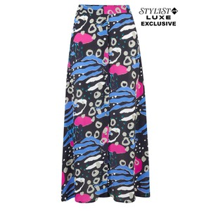 Exclusive Lara Skirt - Abstract Floral