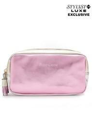 NOOKI Exclusive Luna Washbag - Pink, Gold & SIlver