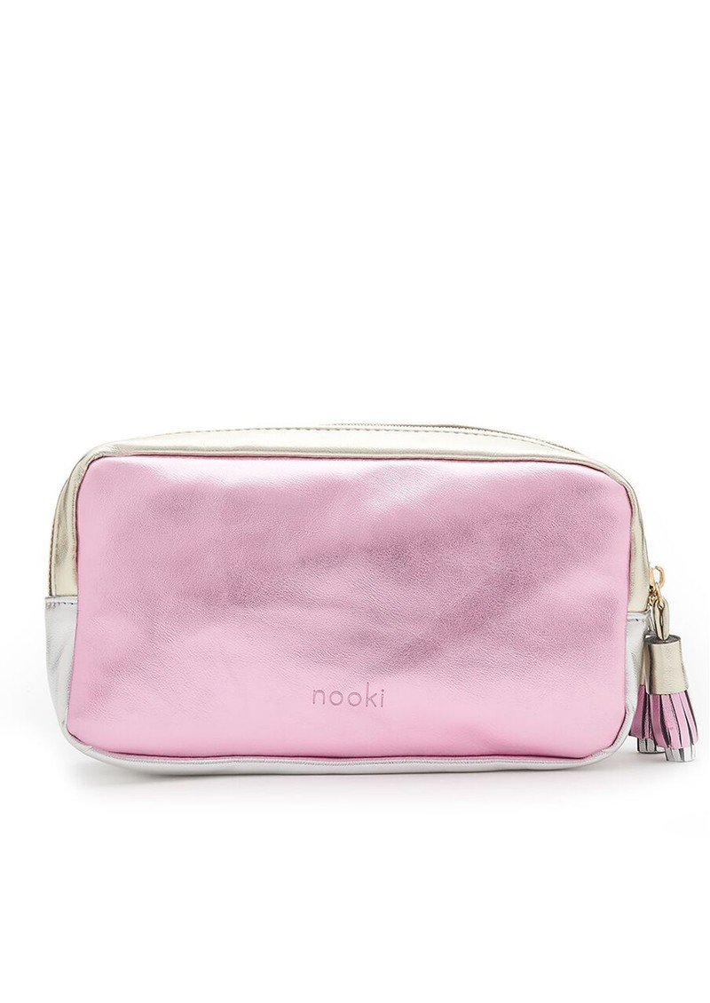 NOOKI Exclusive Luna Washbag - Pink, Gold & SIlver main image