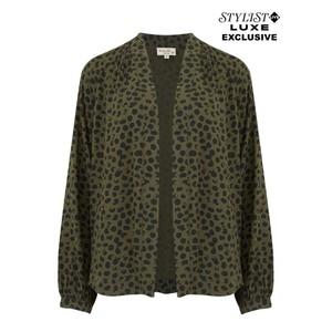 Exclusive Lauren Kimono - Khaki Spot