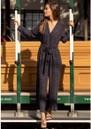 Rails Callan Jumpsuit - Charcoal Tiger