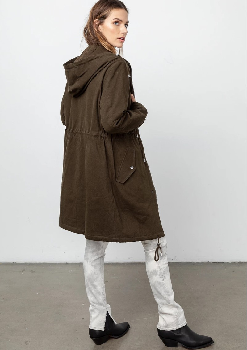 Rails Landon Hooded Parka Coat - Olive main image