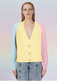 OLIVIA RUBIN Tally Cardigan - Yellow