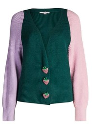OLIVIA RUBIN Tally Cardigan - Green