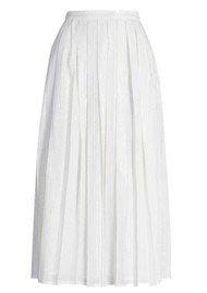 OLIVIA RUBIN Esme Sequin Skirt - White