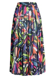 OLIVIA RUBIN Esme Sequin Skirt - Abstract Floral