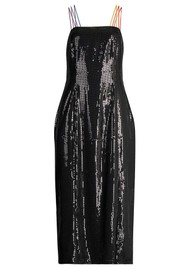 OLIVIA RUBIN Greta Sequin Dress - Black