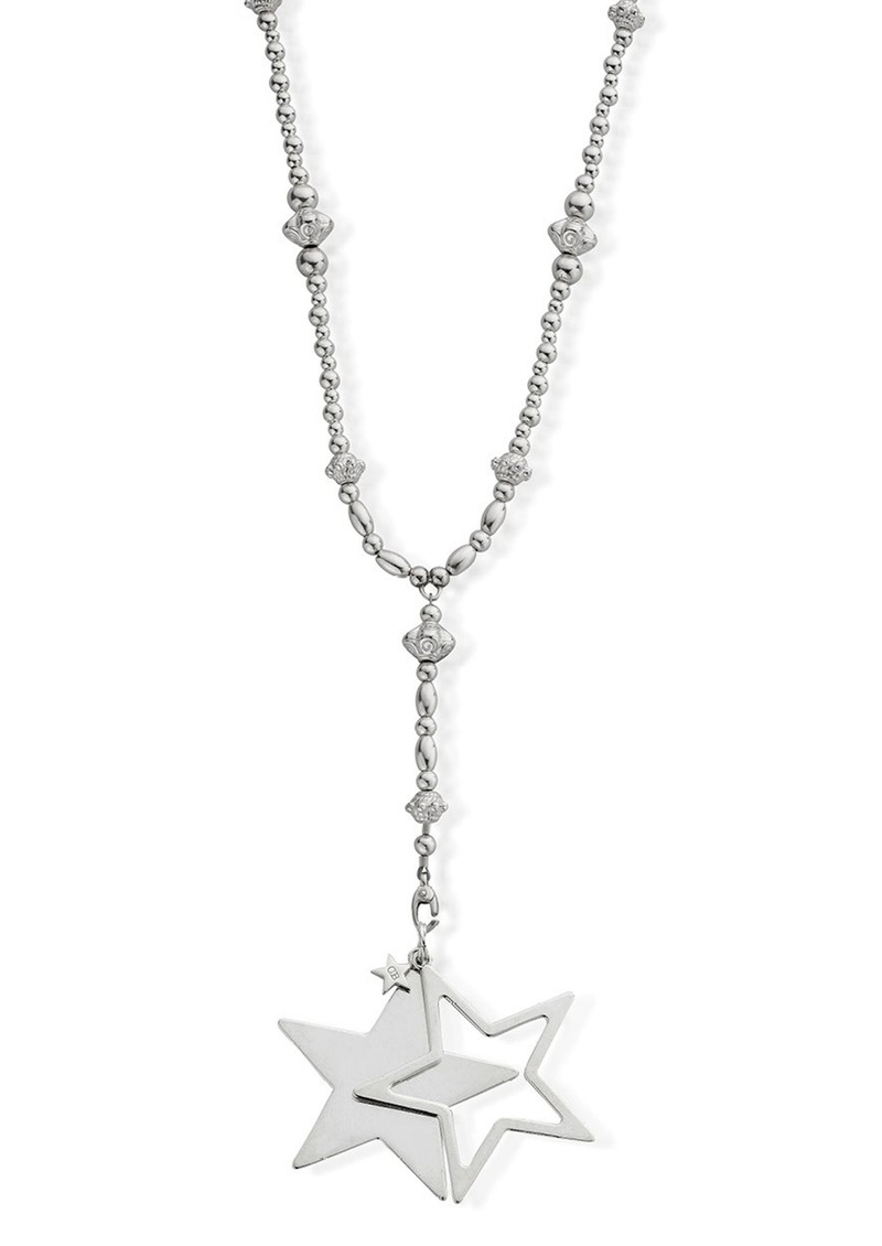 ChloBo Fearless Necklace With Star Pendant - Silver main image
