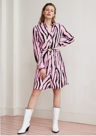 FABIENNE CHAPOT Hayley Dress - Pink Zebra