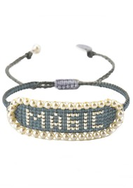 MISHKY Magic Beaded Bracelet - Grey