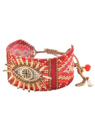 MISHKY Evil Eye 2.0 Bracelet - Red