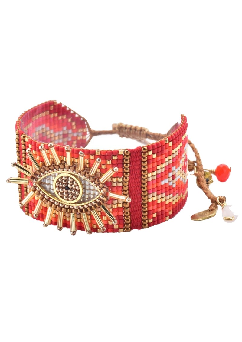 MISHKY Evil Eye 2.0 Bracelet - Red main image