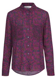 SAMSOE & SAMSOE Milly Long Sleeve Shirt - Moonlight