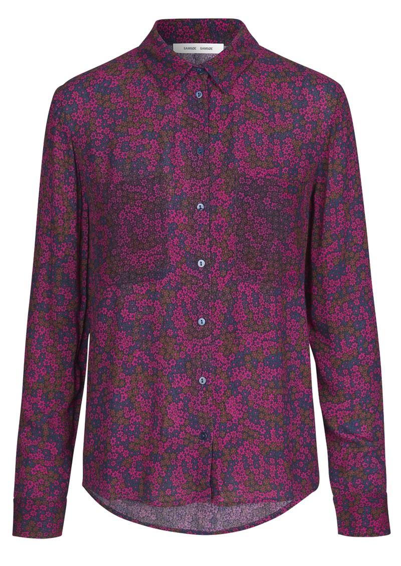 SAMSOE & SAMSOE Milly Long Sleeve Shirt - Moonlight main image