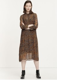 SAMSOE & SAMSOE Elm Shirt Dress - Argan Moonscape