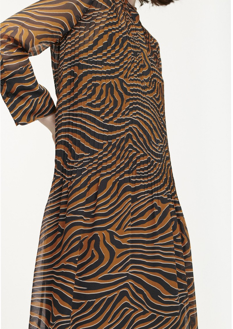 SAMSOE & SAMSOE Elm Shirt Dress - Argan Moonscape main image