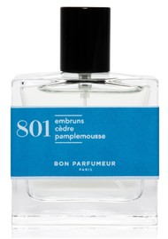BON PARFUMEUR Eau De Parfum 30ml - 801 Sea Spray, Cedar & Grapefruit