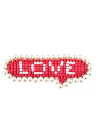 MISHKY Love Hair Clip - Red