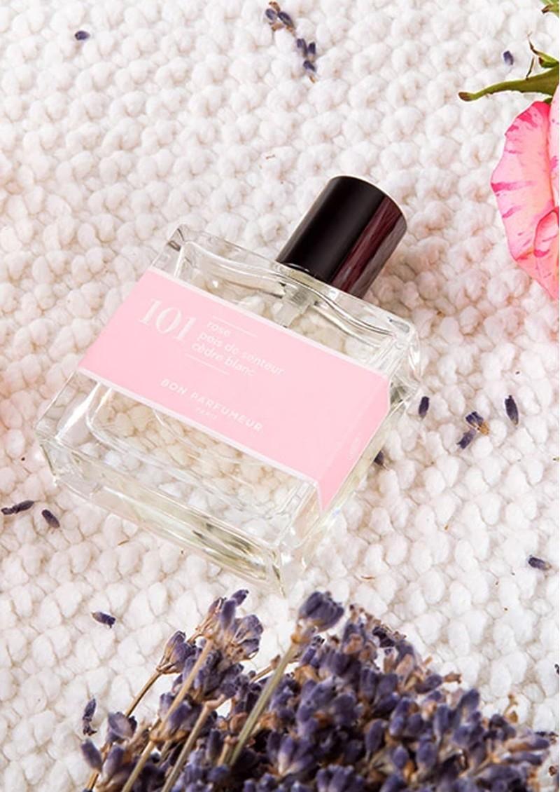 BON PARFUMEUR Eau De Parfum 30ml - 801 Rose, Sweet Pea & White Cedar main image