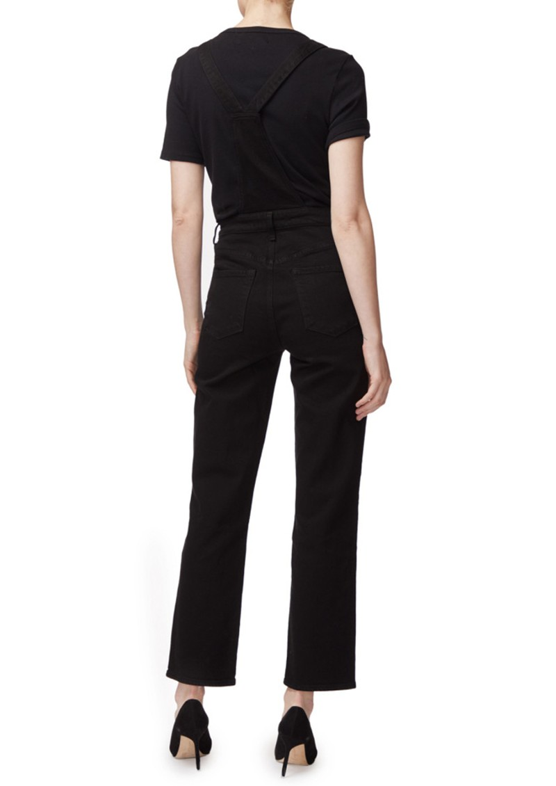 J Brand Jules Overall Jean Dungarees - Black main image