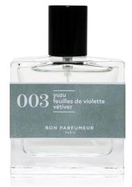 BON PARFUMEUR Eau De Parfum Cologne 30ml - 003 Yuzu, Violet Leaves & Vetiver