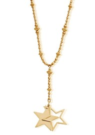 ChloBo Fearless Necklace With Star Pendant - Gold