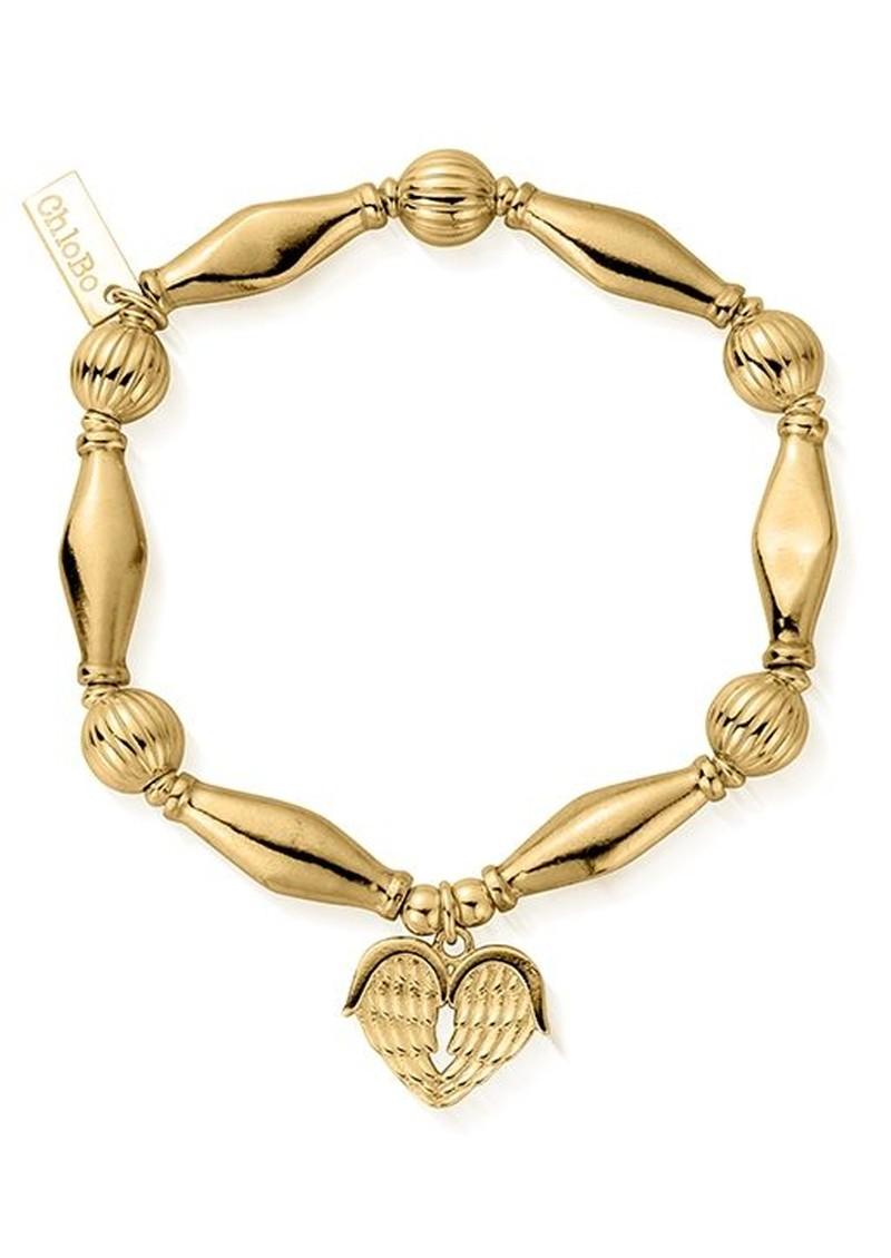 ChloBo Heavenly Heart Bracelet - Gold main image
