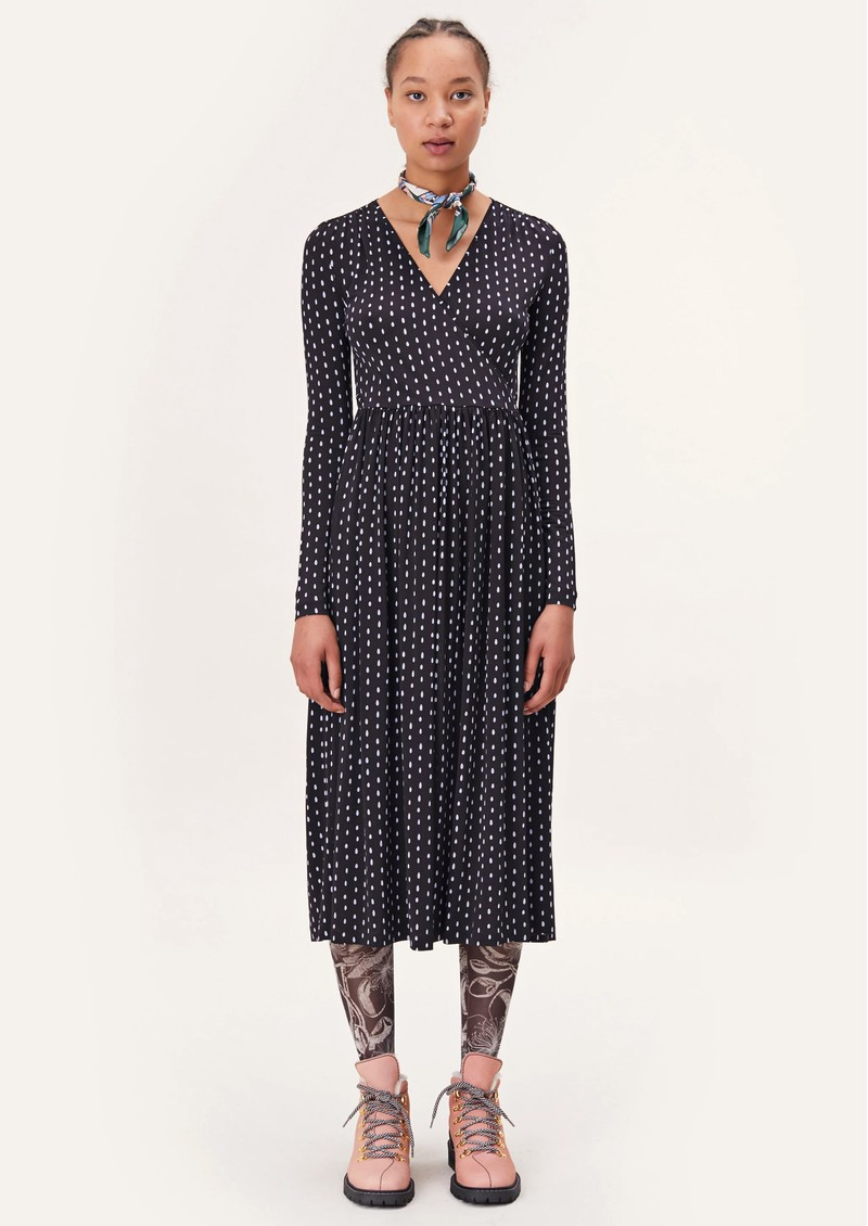 STINE GOYA Alina Jersey Dress - Oval Dot main image