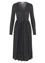 STINE GOYA Alina Jersey Dress - Oval Dot