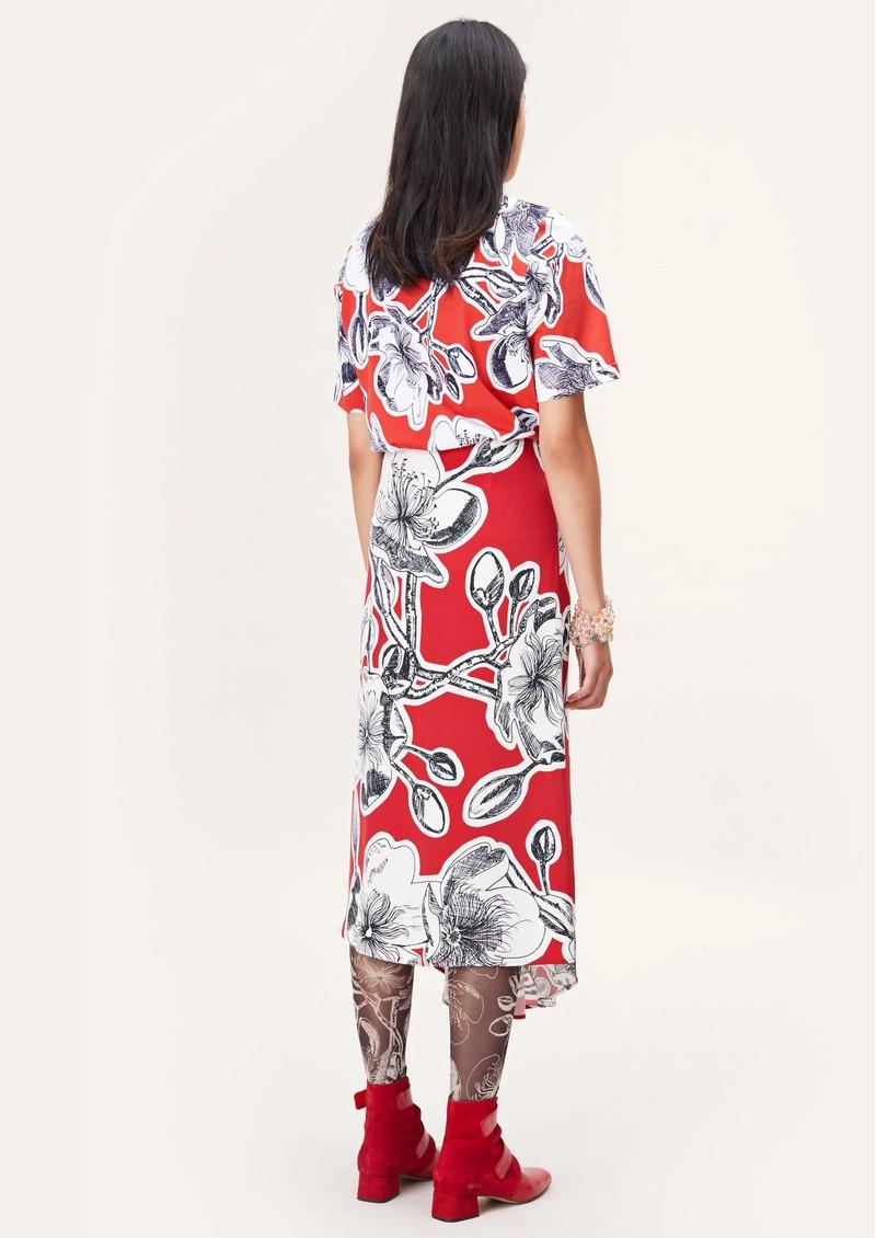 STINE GOYA  Blossom Skirt - Jasmine Dahlia main image