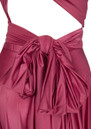 Long Satin Ball Gown - Raspberry additional image