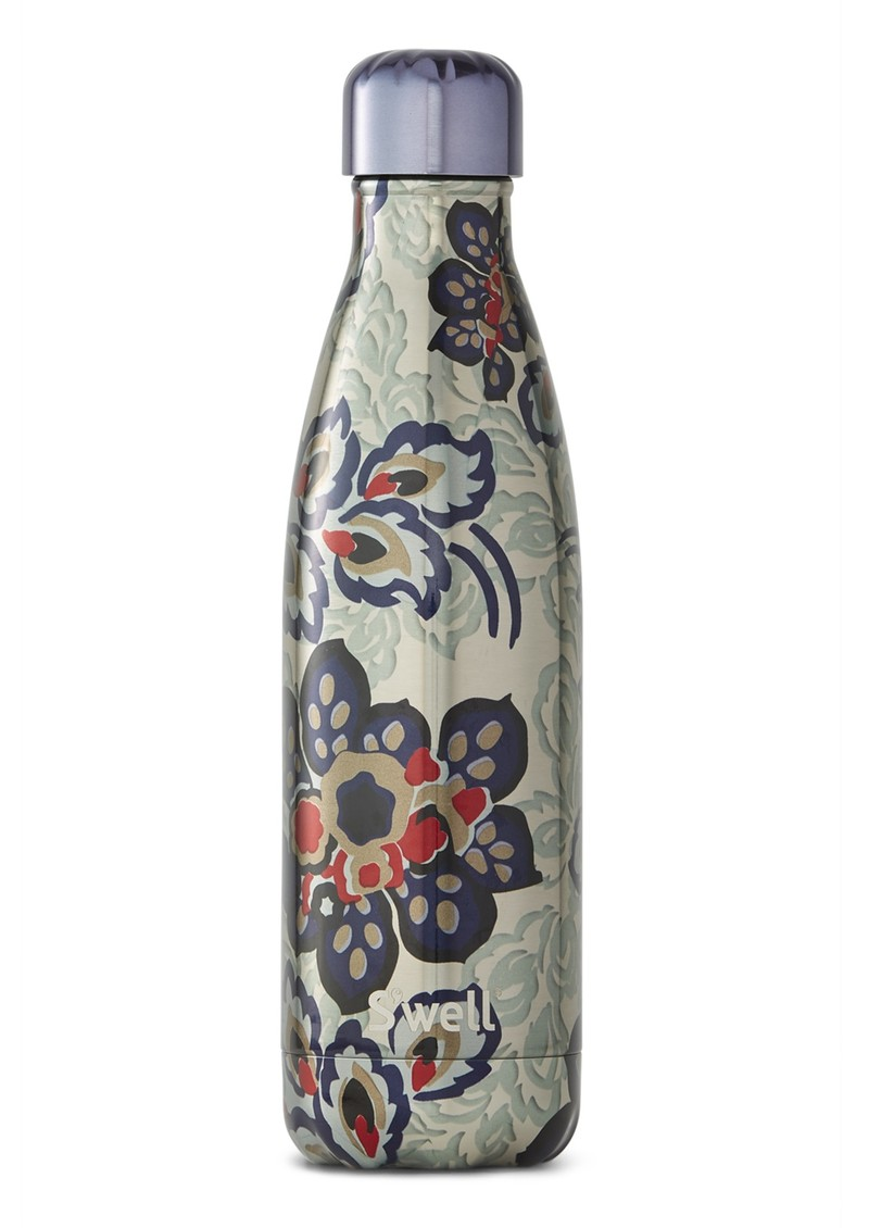 SWELL The Metallic Florals 17oz Water Bottle - Greenwich Lane main image