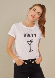 SOUTH PARADE Jane Boy 'Dirty Martini' T-Shirt - White