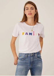 SOUTH PARADE Jane Boy 'Family' T-Shirt - White
