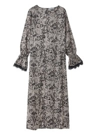 Lily and Lionel Dakota Dress - Natural Snake